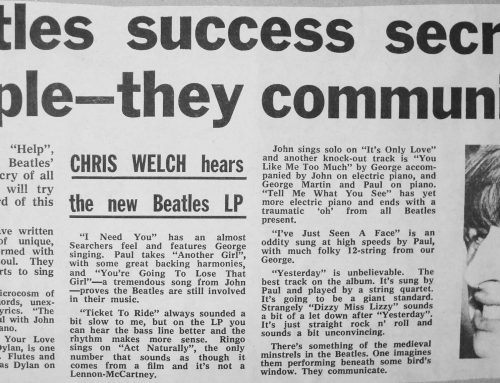 Beatles 'Help!' Album Review, Melody Maker